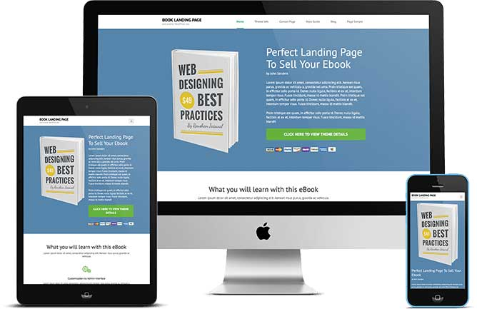 Business landing pages